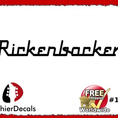 112b Rickenbacker Decal