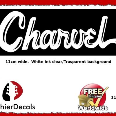 115wb Charvel Guitar Decal