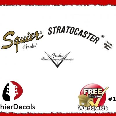 123b Squier Stratocaster Decal