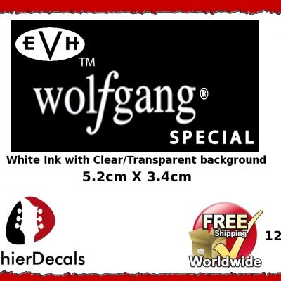 124wb Evh Wolfgang Guitar Decal