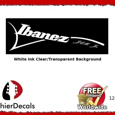 126wb Ibanez Jem Guitar Decal