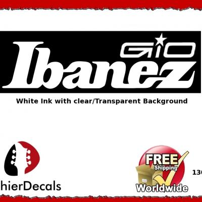 130wb Ibanez Gio Guitar Decal