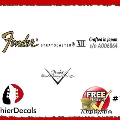 136b Fender Stratocaster Crafterd In Japan