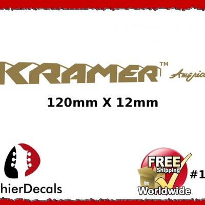 137b Kramer American Decal