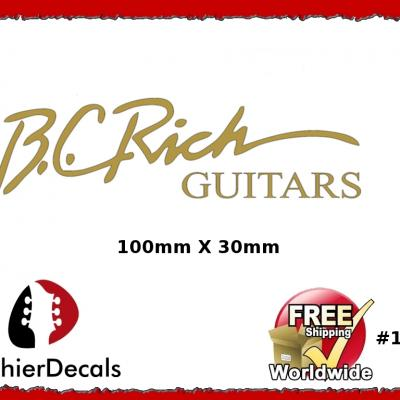 143b B.c. Rich Guitar Decal