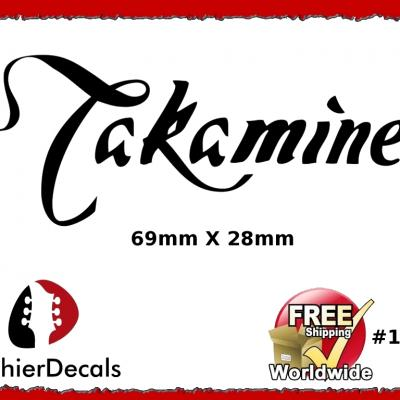 146b Takamine Guitar Decal