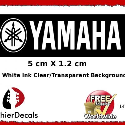 146gsb Yamaha White Guitar Decal