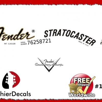 150b Fender Stratocaster Decal