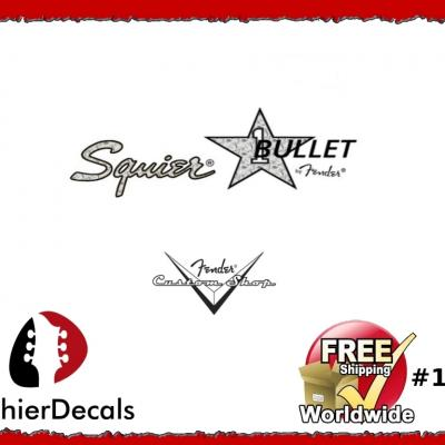 153b Squier Bullet Guitar Decal