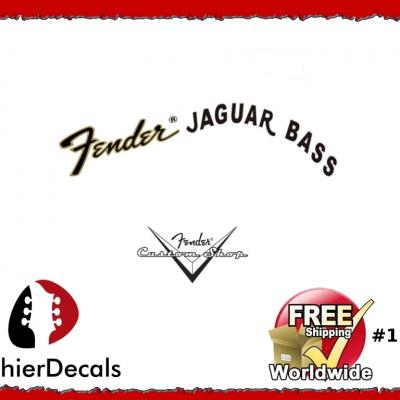 155b Fender Jaguar Bass Decal