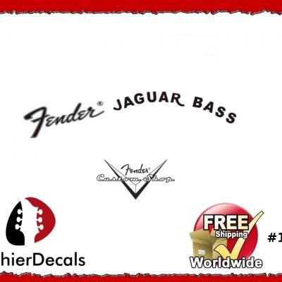 156b Fender Jaguar Bass Decal