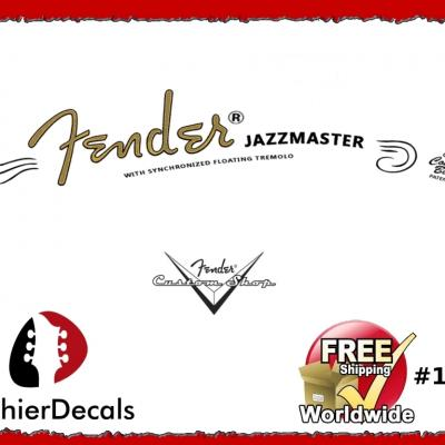 160b Fender Jazzmaster Guitar Decal