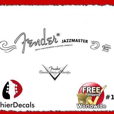 161b Fender Jazzmaster Guitar Decal