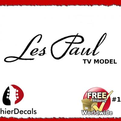 164b Les Paul Tv Model Guitar Decal