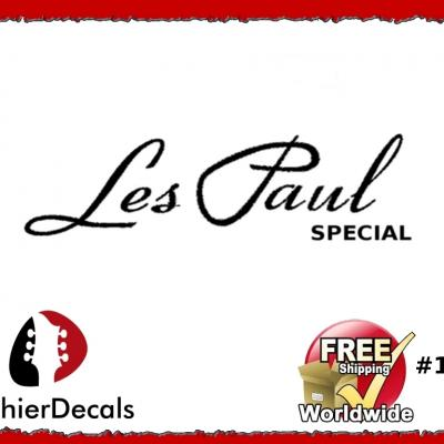165b Les Paul Special Guitar Decal