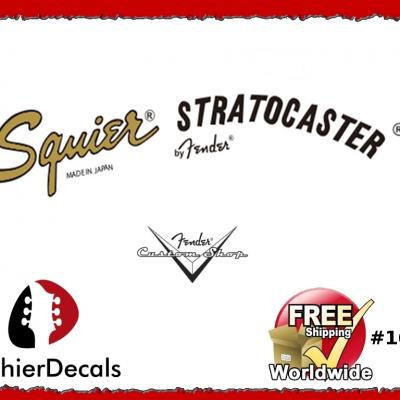 169b Squier Statocaster Guitar Decal