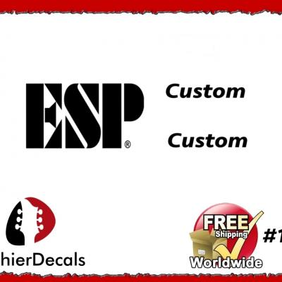 181b Esp Guitar Decal