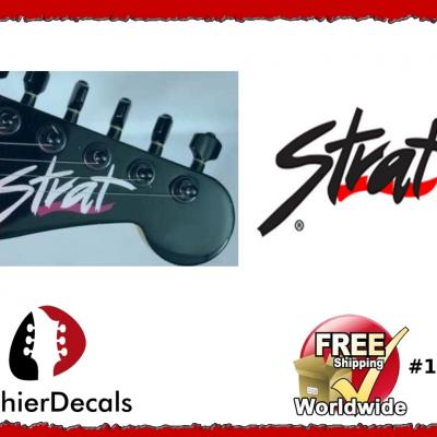 183b Fender Strat Guitar Decal