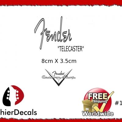 188b Fender Telecaster Guitar Decal