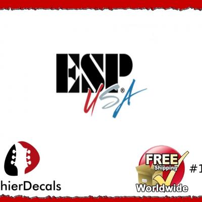 194b Esp Usa Guitar Decal