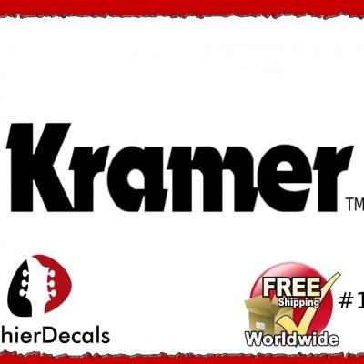 195b Kramer Guitar Decal