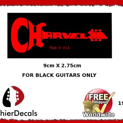 197b Charvel Guitar Decal