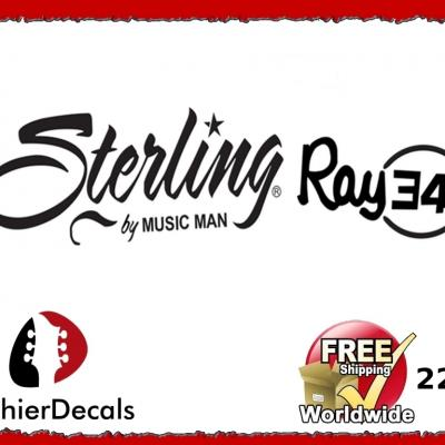 220b Musicman Sterling Ray 34 Guitar Decal
