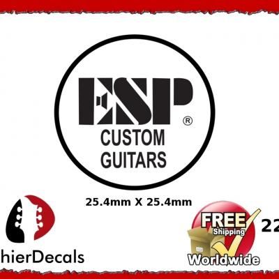 224b Esp Custom Guitar Waterslide Decal