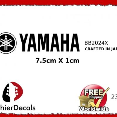 233b Yamaha Guitar Decal