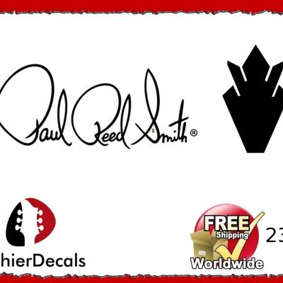 237b Paul Reed Smith Guitar Decal