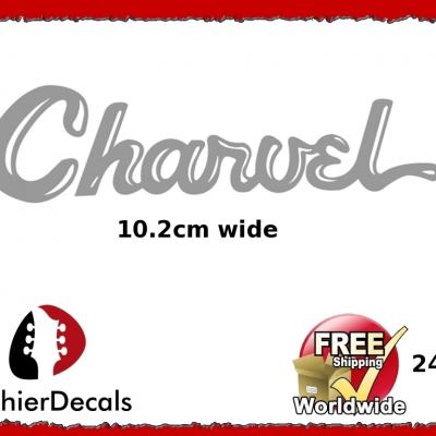 240b Charvel Guitar Decal