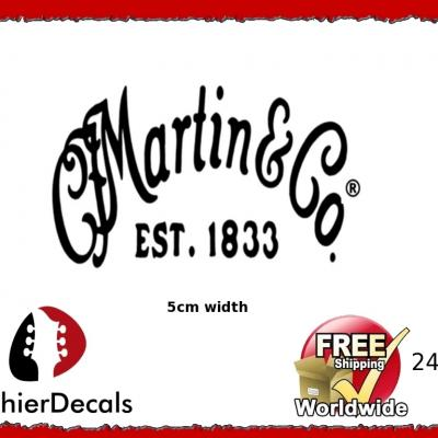 241b Martin And Co Guitar Decal