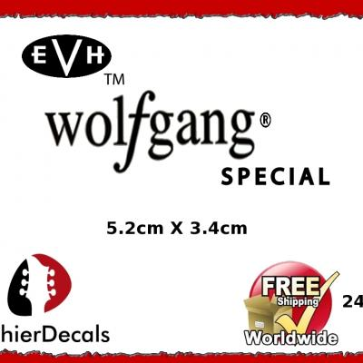 245b Evh Wolfgang Guitar Decal