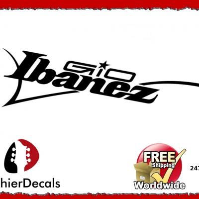 247b Ibanez Gio Guitar Decal