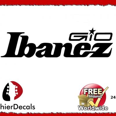 248b Ibanez Gio Guitar Decal