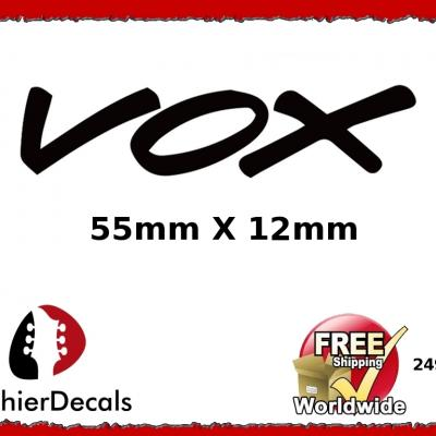 249b Vox Guitar Decal