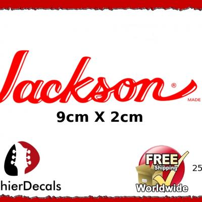 250b Jackson Guitar Decal
