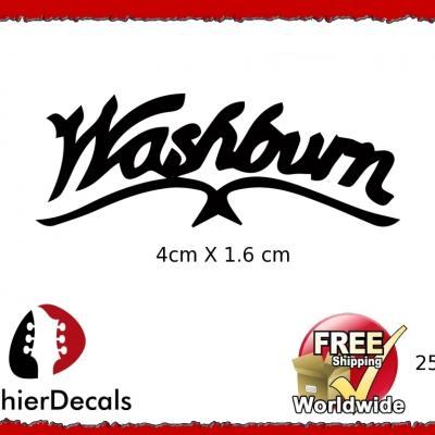 252b Washburn Guitar Decal