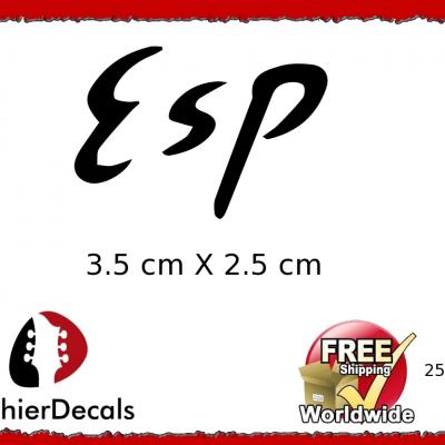 253b Esp Guitar Decal