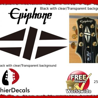 255b Epiphone Gibson Guitar Decal