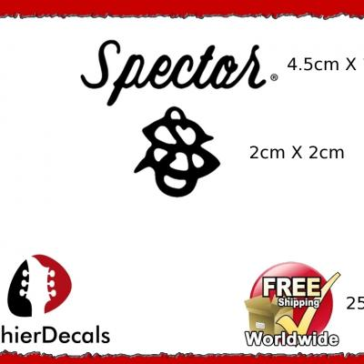 259b Spector Guitar Decal