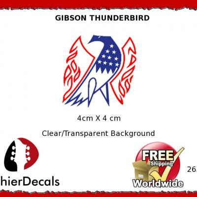 265b Gibson Thunderbird Guitar Decal