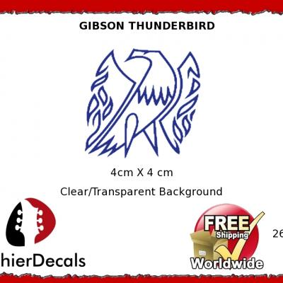 267b Gibson Thunderbird Guitar Decal