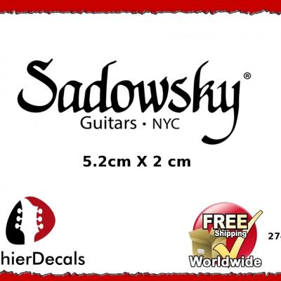 274b Sadowsky Guitar Decal