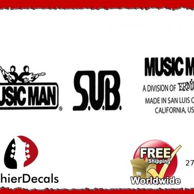 275b Musicman Sub Guitar Decal