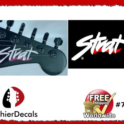 75ab Fender Strat Guitar Decal