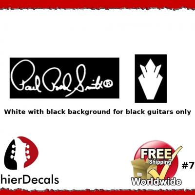 79wb Paul Reed Smith Decal