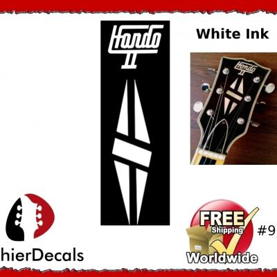 93wab Gibson Hondo Guitar Decal
