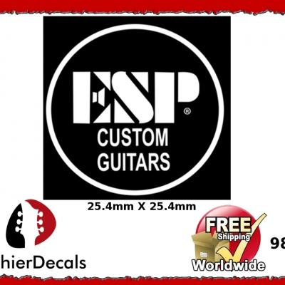 98wb Esp Custom Guitar Waterslide Decal
