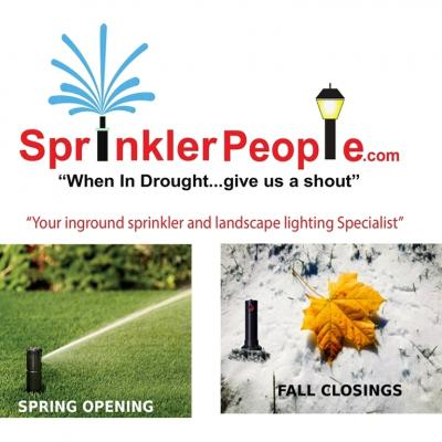 Sprinkler People Opening And Closing Durham